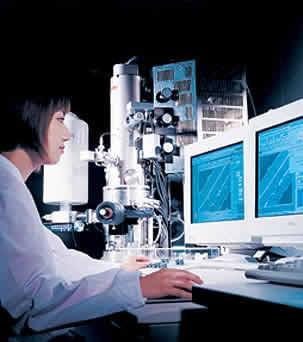 写真「電界放射型走査型電子顕微鏡」