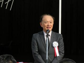 松尾学長の挨拶